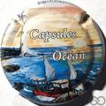 Champagne capsule 8 Capsules Océan