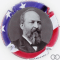 Champagne capsule 6.s James Abram Garfield