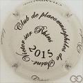 Champagne capsule 8.d Ecru et noir, 2015