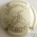 Champagne capsule 7.e Crème et or