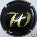Champagne capsule A1 Noir et or
