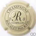 Champagne capsule 2 Crème et noir