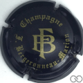 Champagne capsule A1 Noir et or mat