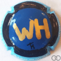 Champagne capsule A1 PALM, initiales WH
