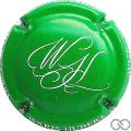 Champagne capsule 9.g Vert et blanc