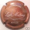 Champagne capsule 18.e Jéroboam, rosé