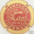 Champagne capsule 38 Cuvée 2000, quart