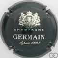 Champagne capsule 33.c Quart, vert foncé et argent