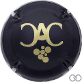 Champagne capsule 8.a Noir mat et or