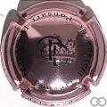 Champagne capsule 8.a Rosé-violacé et noir