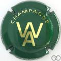 Champagne capsule 13 Vert et or
