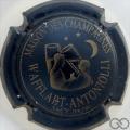 Champagne capsule 4 Bleu métallisé