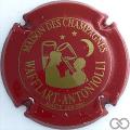 Champagne capsule 6 Rouge foncé
