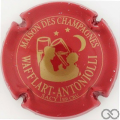 Champagne capsule 5 Rouge