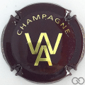 Champagne capsule 15 Marron et or