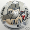 Champagne capsule A2 PALM Sainte-Mère-Église 75 ans du débarquement