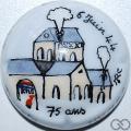 Champagne capsule A2.a Jéroboam, PALM, Sainte-Mère-Église 75 ans du débarquement