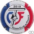 Champagne capsule  Texan Club