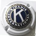 Champagne capsule A2 Kiwanis Zottegem