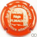 Champagne capsule 58.f Orange et blanc
