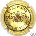 Champagne capsule 2 Or, noir et rouge