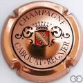 Champagne capsule 1 Cuivre, noir et rouge