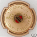 Champagne capsule 4 Rosé, or et rouge