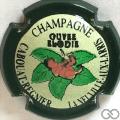 Champagne capsule H1601.e Contour vert foncé