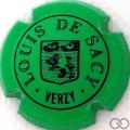 Champagne capsule 1.f Vert et noir