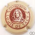 Champagne capsule 3 Crème et bordeaux