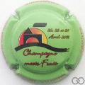 Champagne capsule 28.d Meets Fruit 2016, vert