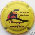 Champagne capsule 28.e Meets Fruit 2016, jaune