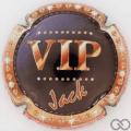 Champagne capsule 20 VIP, petites lettres