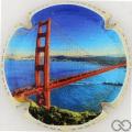 Champagne capsule 9 Golden Gate Bridge