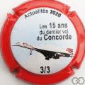 Champagne capsule A7.b Contour rouge et noir 3/3