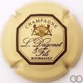 Champagne capsule 13 Crème et marron
