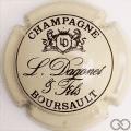 Champagne capsule 2.a Gris-crème et noir