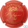 Champagne capsule 7 Rouge
