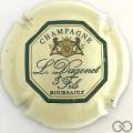 Champagne capsule 11 Crème et vert