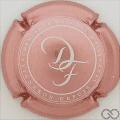 Champagne capsule 19.b Rosé métallisé et blanc