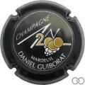 Champagne capsule 614 An 2000, noir