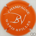 Champagne capsule 2 Orange et blanc