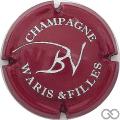 Champagne capsule 4 Lie de vin et blanc