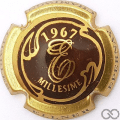 Champagne capsule 1 Marron et or