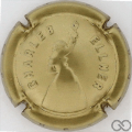 Champagne capsule 16 Silhouette, estampée, or
