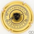 Champagne capsule 5 Or et bleu foncé