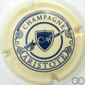 Champagne capsule 3 Crème et bleu