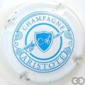 Champagne capsule 4 Blanc et bleu