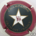 Champagne capsule 2 W et B rouge