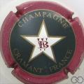 Champagne capsule 2 W et B rouge